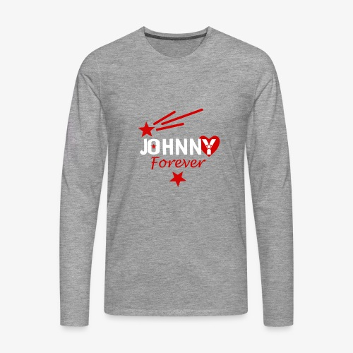 Johnny forever - T-shirt manches longues Premium Homme