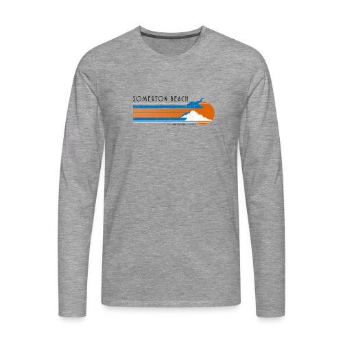 Somerton Beach: Tamam Shud Mystery - Men's Premium Longsleeve Shirt