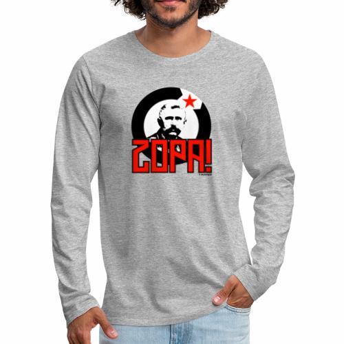Zopa! - Mannen Premium shirt met lange mouwen