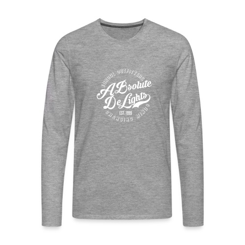 EuroDL Retro T-shirt - Mannen Premium shirt met lange mouwen