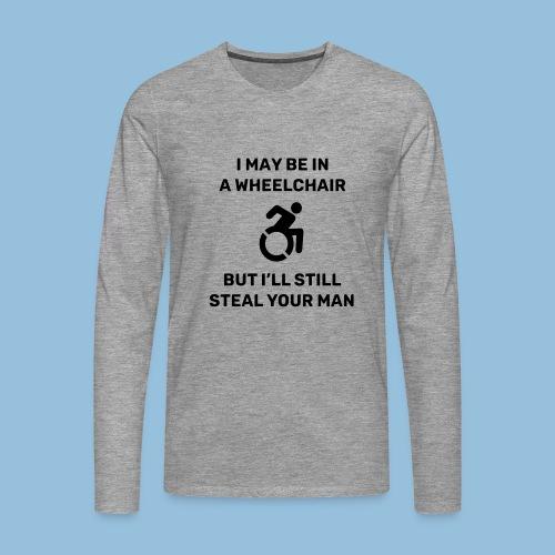 Steal2 - Mannen Premium shirt met lange mouwen