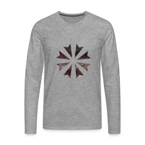 Gladiatores Haukreuz - Männer Premium Langarmshirt