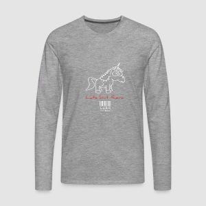 lurr unicorn - Men's Premium Longsleeve Shirt