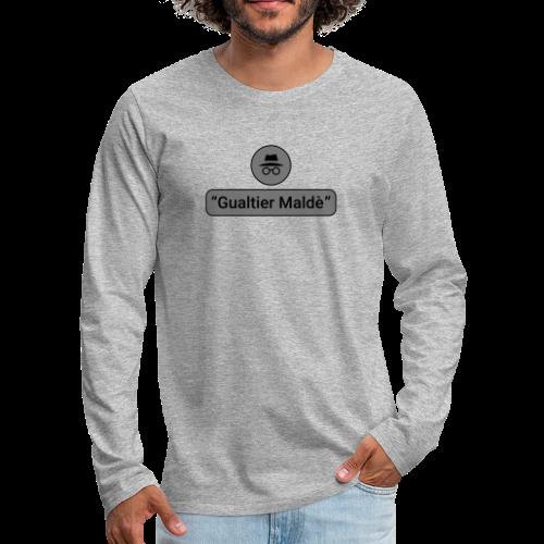 Rigoletto: Duca - Incognito (duotone) - Maglietta Premium a manica lunga da uomo
