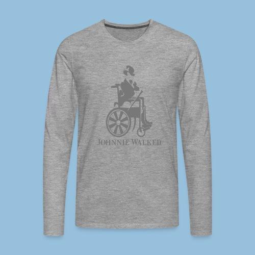 JW - Mannen Premium shirt met lange mouwen
