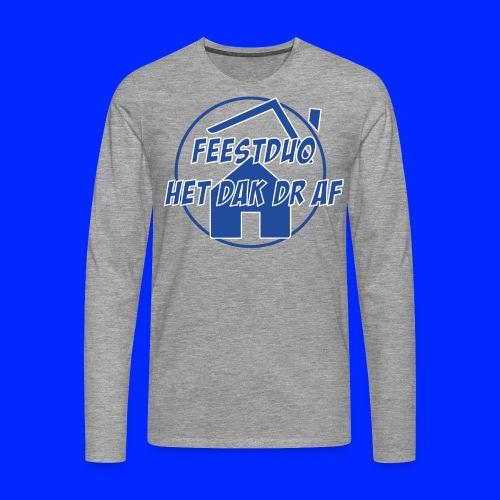 Simpel logo - Mannen Premium shirt met lange mouwen