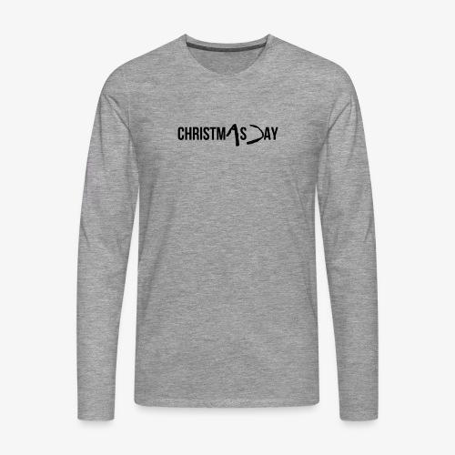 christmAs Day - Men's Premium Longsleeve Shirt