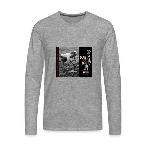 037 No te duermas - Camiseta de manga larga premium hombre