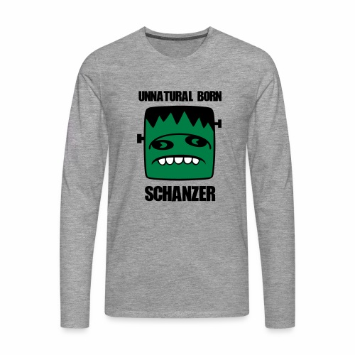 Fonster unnatural born Schanzer - Männer Premium Langarmshirt