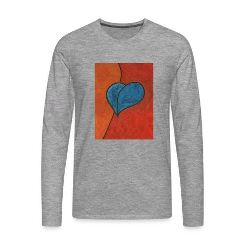 Czekam - Koszulka męska Premium z długim rękawem