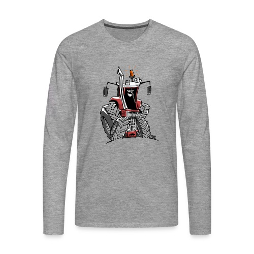 case 856XL kleur zonder wielen - Mannen Premium shirt met lange mouwen