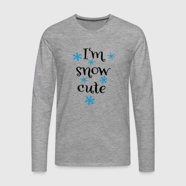 snow3 - Maglietta Premium a manica lunga da uomo