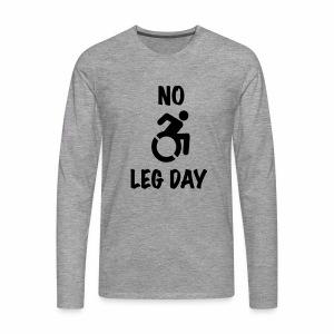 nolegday - Mannen Premium shirt met lange mouwen