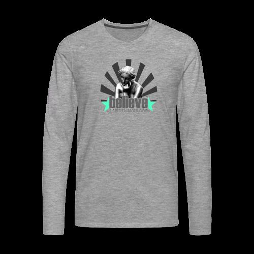believe 3 - Männer Premium Langarmshirt