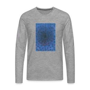 Blue Sky - Koszulka męska Premium z długim rękawem