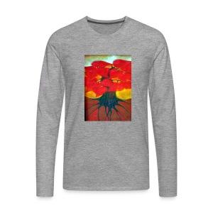 Bukiet - Koszulka męska Premium z długim rękawem