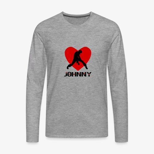 Johnny - T-shirt manches longues Premium Homme