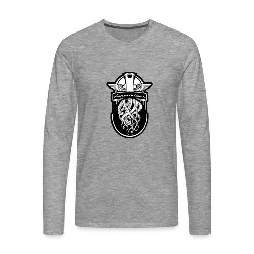 018 Escudo Beagle 4 - Camiseta de manga larga premium hombre
