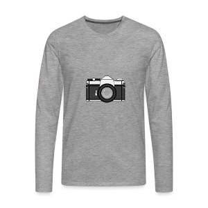 Shot Your Photo - Maglietta Premium a manica lunga da uomo