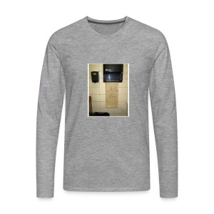 Stuck in the paperholder - Långärmad premium-T-shirt herr