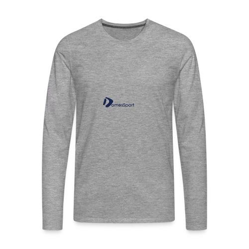 Logo DomesSport Blue noBg - Männer Premium Langarmshirt