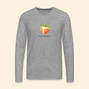Look my peach - T-shirt manches longues Premium Homme