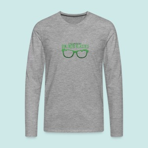 Need Glasses - Green - T-shirt manches longues Premium Homme
