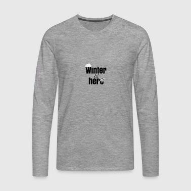 L'inverno è qui - Maglietta Premium a manica lunga da uomo