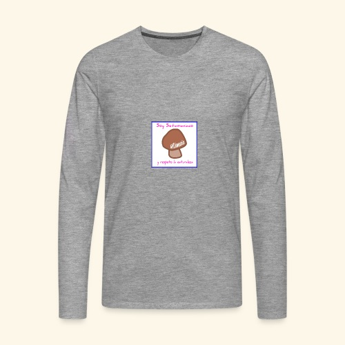 Soy Setamaniaco - Camiseta de manga larga premium hombre