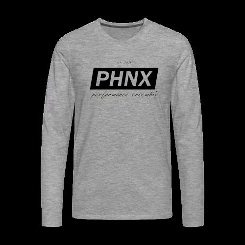 PHNX /#black/ - Männer Premium Langarmshirt