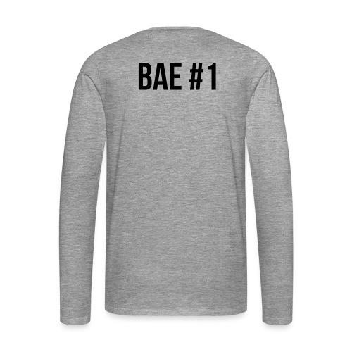 Bae #1 - Männer Premium Langarmshirt