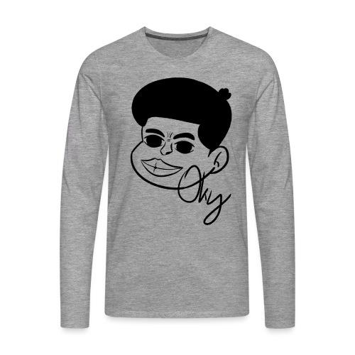 Afro Boy - Männer Premium Langarmshirt