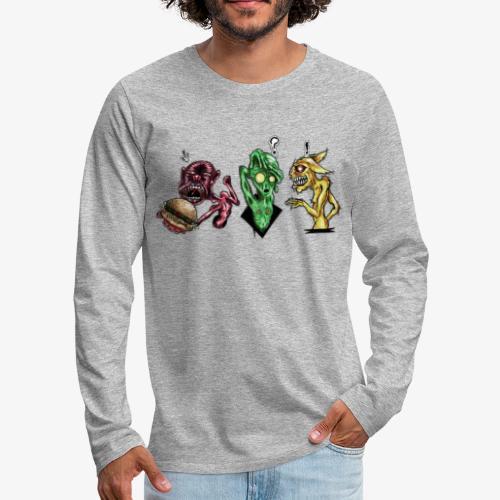 Weird communication - T-shirt manches longues Premium Homme