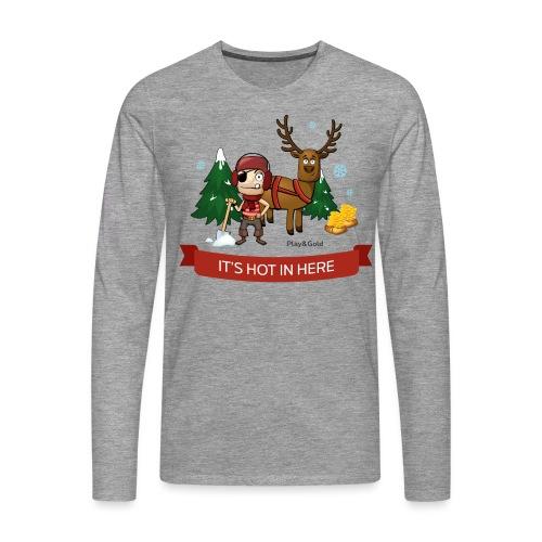 tshirt noel2 - T-shirt manches longues Premium Homme