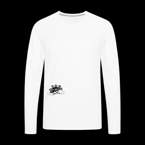 SamShaky - Miesten premium pitkähihainen t-paita