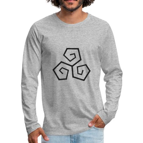 Triskele - Men's Premium Longsleeve Shirt