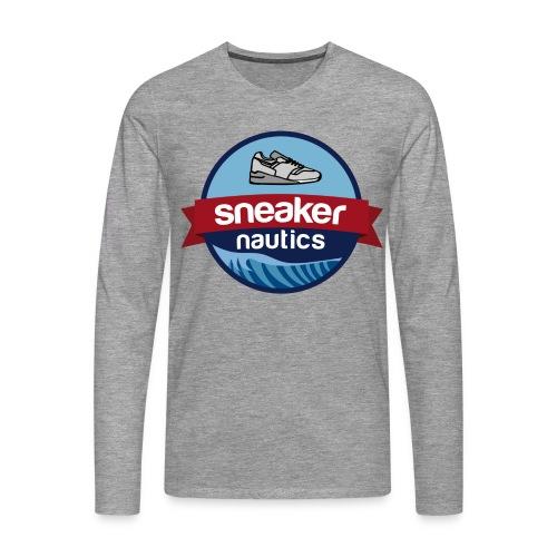 snkrntcs_logo - Männer Premium Langarmshirt