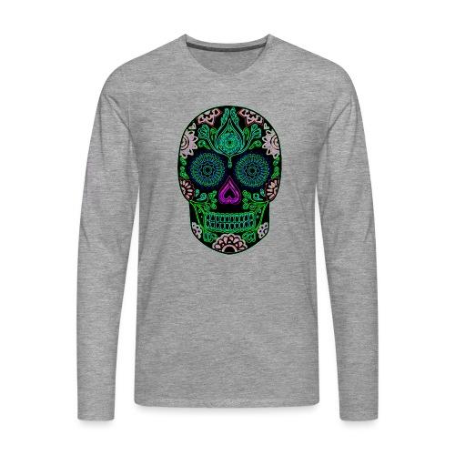 Sugar Skull - Men's Premium Longsleeve Shirt