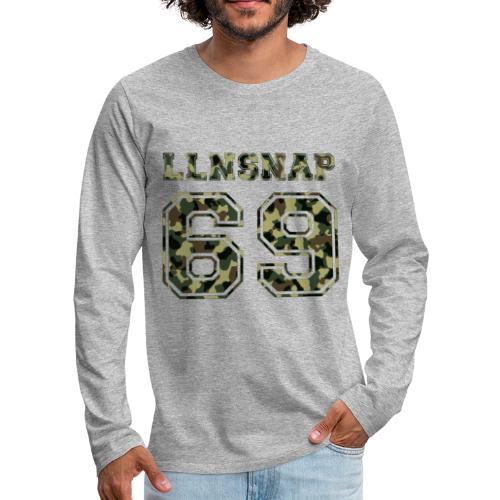LLNsnap 69 (camo) - T-shirt manches longues Premium Homme