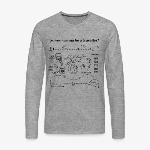 nomad - Men's Premium Longsleeve Shirt