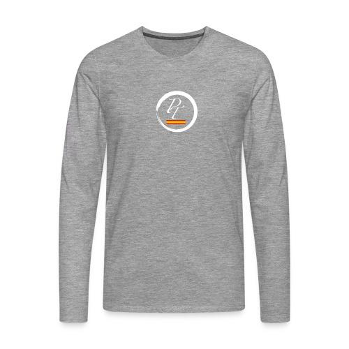 PT blanco spain españa - Camiseta de manga larga premium hombre