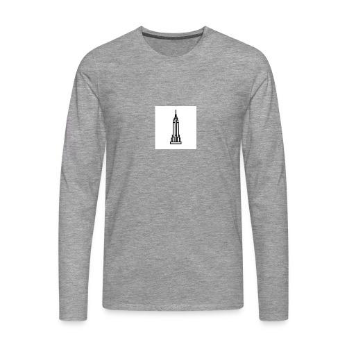 Empire State Building - T-shirt manches longues Premium Homme