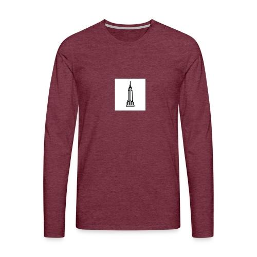 Empire State Building - T-shirt manches longues Premium Homme