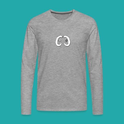 Crowd Control Logo - Men's Premium Longsleeve Shirt