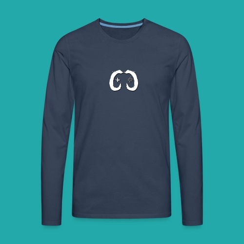 Crowd Control Logo - Men's Premium Longsleeve Shirt