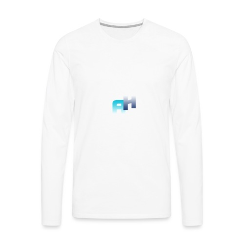 Logo-1 - Maglietta Premium a manica lunga da uomo