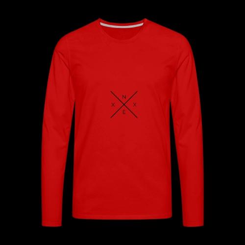 NEXX cross - Mannen Premium shirt met lange mouwen