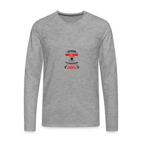 26 editor - Koszulka męska Premium z długim rękawem