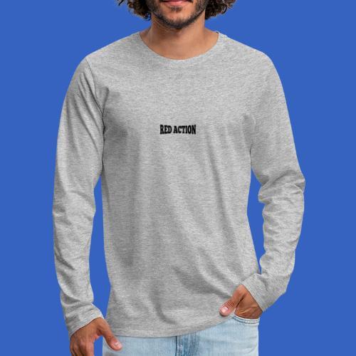 Red Action - Männer Premium Langarmshirt