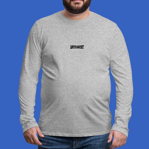 Antifascist - Antifaschist - Männer Premium Langarmshirt